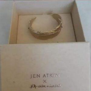 Jen Atkin x Chloe + Isabel Feather Bun Cuff